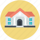 large home, residence, modern house, guest house icon