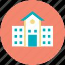 building, building exterior, campus, educational building, real estate, school