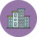 appartment, building, company, construction, corporate, hotel, office icon