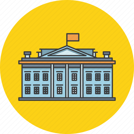 building, college, government, hotel, palace, university icon