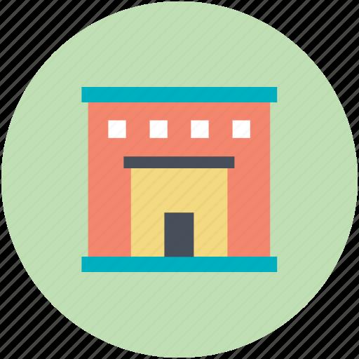 barn, building, depot, farmhouse, storage unit, storehouse, storeroom, warehouse icon