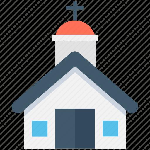 chapel, christianity, church, religious, religious building icon