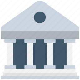 building, court, court building, courthouse, institute icon