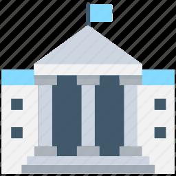 building, college building, institute, real estate, school icon