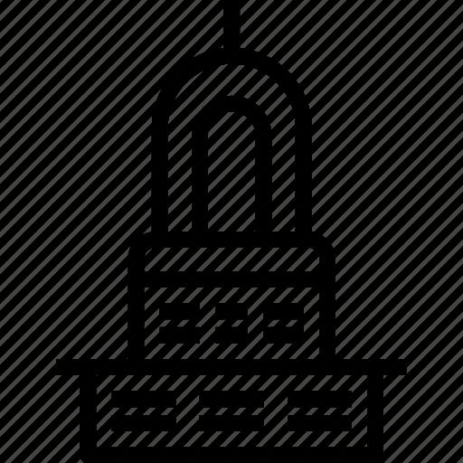 church, citadel, religion, temple icon