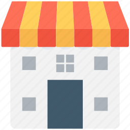 building, institute building, marketplace, shop, store icon