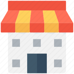market, shop, store, street stall, street stand icon