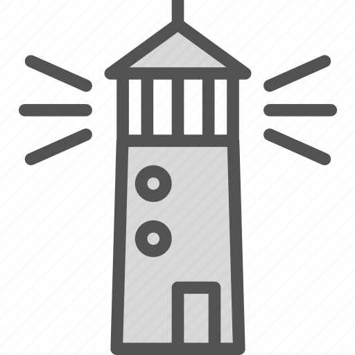 light, lights, observer, tower icon
