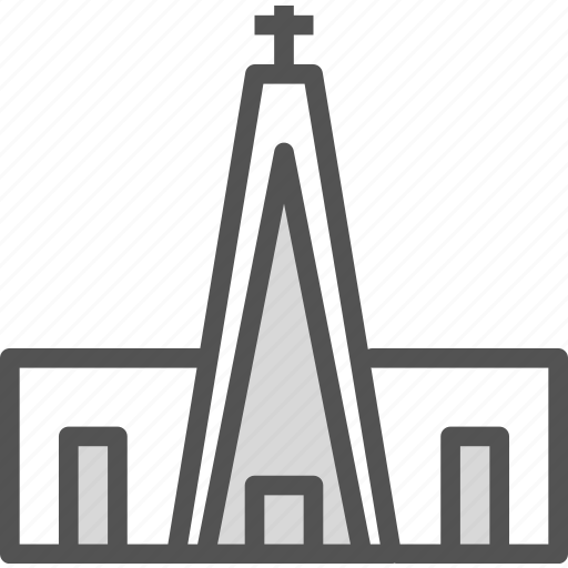 church, cross, protestant, religion, tower icon