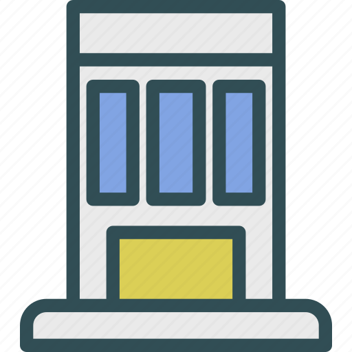 apartment, condo, garage, home, house icon