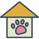 animal, cage, cat, dog, house icon