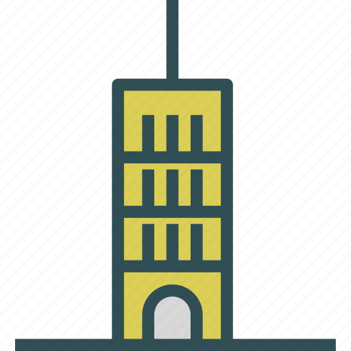 antena, buildings, signal, tower icon