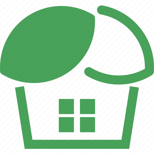 eco, green, home, house, leaf icon
