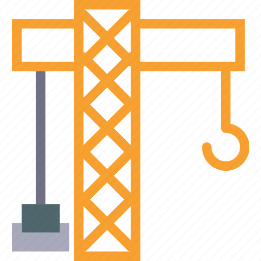 construct, hanger, lift, machinery icon