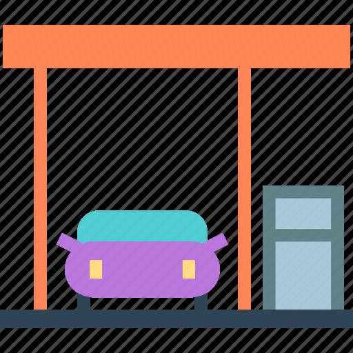 car, gas, gasoline, station, travel icon