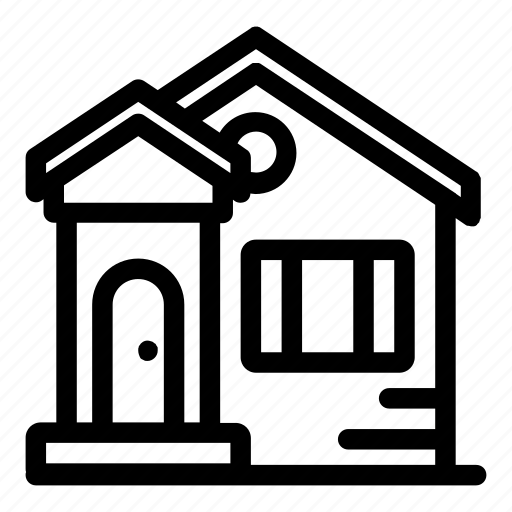 buildings, construction, home, house, property, real estate icon