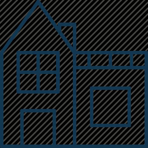 cottage, home, house, hut, shack, villa icon