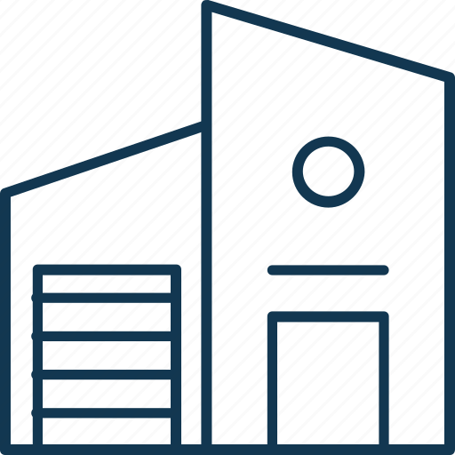 building, storage garage, storage unit, storehouse, warehouse icon
