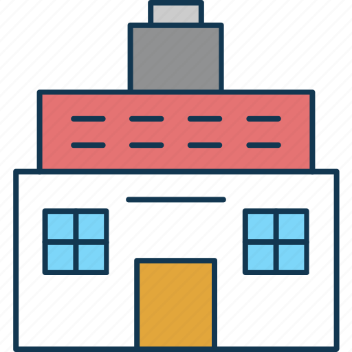bungalow, cabin, cottage, dwelling, house, villa icon