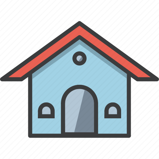 architecture, building, construction, home, house, hut, stay icon