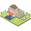 architecture, building, day care centre, day care department, hospital, infrastructure icon