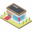 commercial building, commercial supermarket, market, marketplace, store, storefront