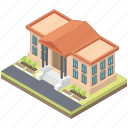 building, court architecture, court house, government building, legal building icon