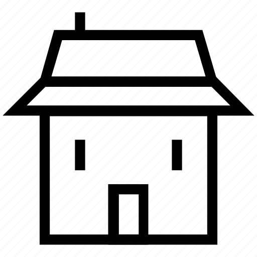 cottage, home, house, hut, shop, store icon