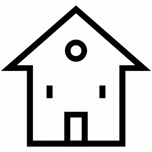 cottage, home, house, hut, lodge, village home icon