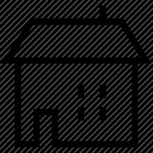 house, hut, market, shop, store icon