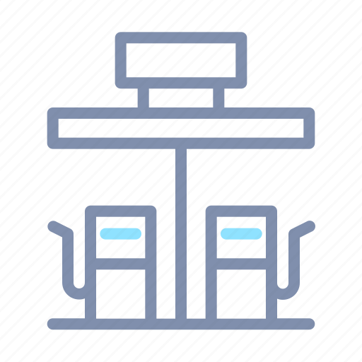 Building, gas, station icon - Download on Iconfinder