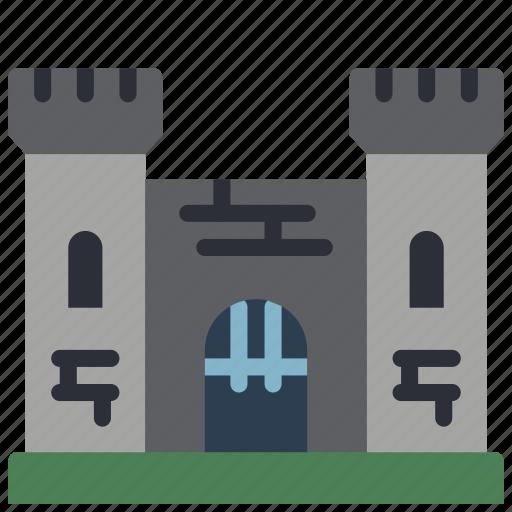 architecture, building, buildings, castle, medievil icon