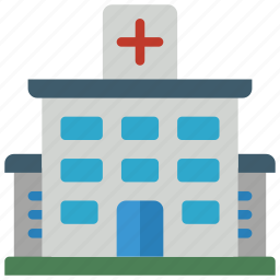architecture, building, buildings, hospital, medical icon