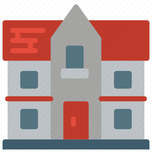 Architecture, building, buildings, home, house, town icon - Download on Iconfinder
