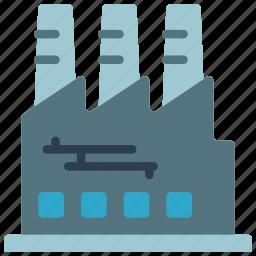 architecture, building, buildings, factory icon