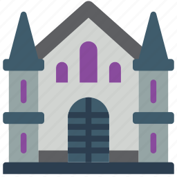 architecture, building, buildings, church icon