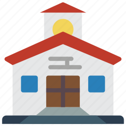 architecture, building, buildings, clock, tower icon