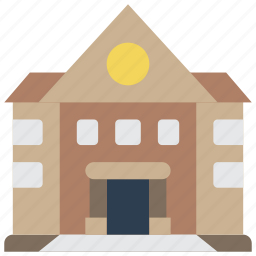 architecture, building, buildings, hall, town icon