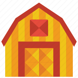 architecture, barn, building, buildings, farm icon