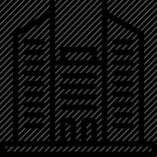 architecture, blocks, building, buildings, hire, rise, skyscraper icon