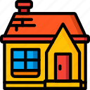 architecture, building, buildings, home, house icon