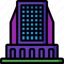 architecture, building, buildings, high, rise, scraper, sky icon