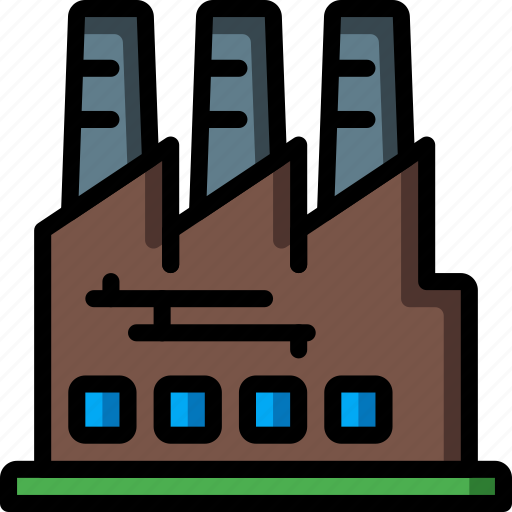architecture, building, buildings, factory, warehouse icon
