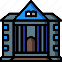 architecture, building, buildings, heall, library icon