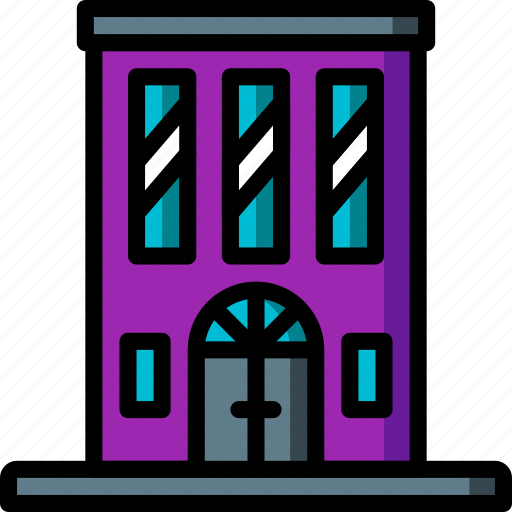 apartments, architecture, block, building, buildings, tower icon