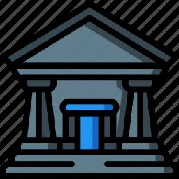 architecture, building, buildings, museum icon