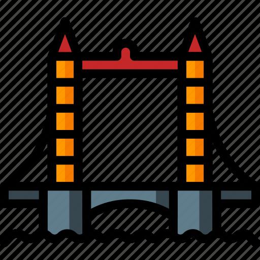 architecture, bridge, building, buildings, london, tower icon