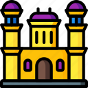 architecture, building, buildings, castle icon