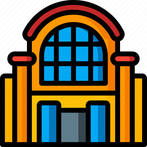 architecture, building, buildings, mall, shopping icon