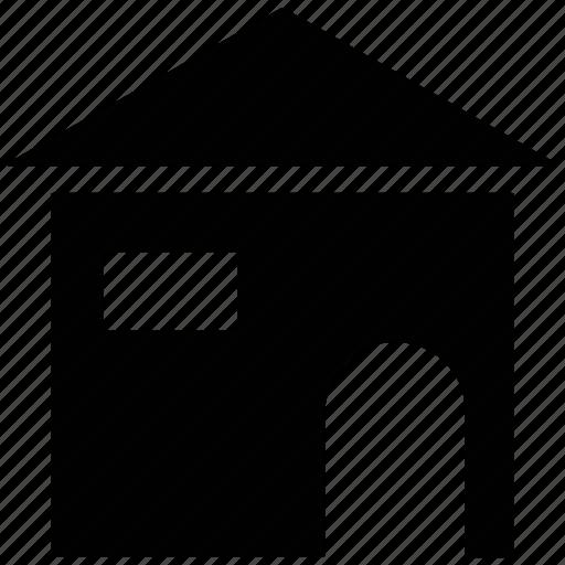 home, hut, shack, villa icon